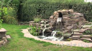 Shamrock Radial Flowform Water Feature